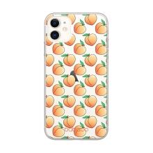 Kryt BABACO - pro Apple iPhone 11 Pro - gumový - průhledný - broskvičky