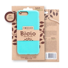 Kryt FOREVER BIOIO - pro Apple iPhone 6 Plus / 6S Plus - Zero Waste kompostovatelný kryt - mátový