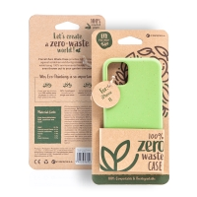Kryt FORCELL BIO - pro Apple iPhone 11 - Zero Waste kompostovatelný kryt - zelený