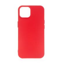 Kryt pro Apple iPhone 13 - silikonový - červený