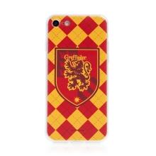 Kryt Harry Potter pro Apple iPhone 7 / 8 / SE (2020) - gumový - emblém Nebelvíru