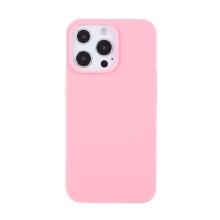 Kryt pro Apple iPhone 13 Pro Max - gumový - růžový