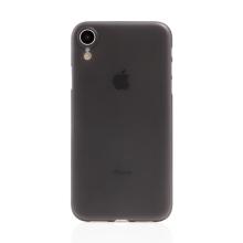 Kryt / obal pro Apple iPhone Xr - ochrana čočky - ultratenký - plastový - matný - černý