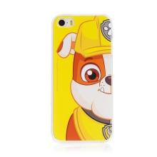 "Kryt ""Tlapková patrola"" pro Apple iPhone 5 / 5S / SE - gumový - Rubble"