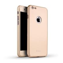 Kryt IPAKY pro Apple iPhone 6 / 6S - celotělový - plastový - zlatý