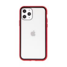Kryt pro Apple iPhone 11 Pro - magnetické uchycení - skleněný / kovový - červený