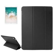 """Pouzdro ENKAY pro Apple iPad Pro 10,5"""" / Air 10,5"""" (2019) - funkce chytrého uspání - gumové / umělá kůže - černé"""