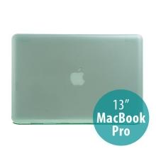 Tenký ochranný plastový obal pro Apple MacBook Pro 13 (model A1278) - lesklý - zelený