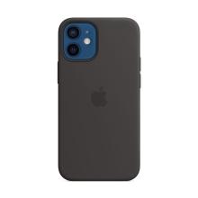 Originální kryt pro Apple iPhone 12 mini - silikonový - černý