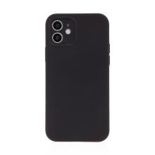 Kryt USAMS pro Apple iPhone 12 - MagSafe kompatibilní - příjemný na dotek - silikonový - černý