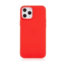 Kryt pro Apple iPhone 12 Pro Max - gumový - červený