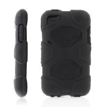 Ochranné plasto-silikonové pouzdro pro Apple iPod touch 4.gen. - černé