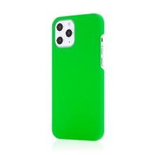 Kryt pro Apple iPhone 12 / 12 Pro - plastový - měkčený povrch - zelený