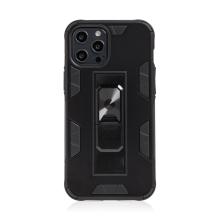 Kryt FORCELL Defender pro Apple iPhone 12 Pro Max - plastový / gumový - černý