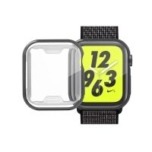 Kryt pro Apple Watch 4 / 5 40mm - černý - gumový