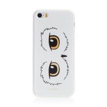 Kryt Harry Potter pro Apple iPhone 5 / 5S / SE - gumový - oči sovy Hedviky - průhledný