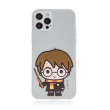 Kryt Harry Potter pro Apple iPhone 12 / 12 Pro - gumový - Harry Potter - průhledný