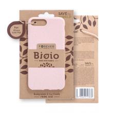 Kryt FOREVER BIOIO - pro Apple iPhone 6 Plus / 6S Plus - Zero Waste kompostovatelný kryt - pískově růžový