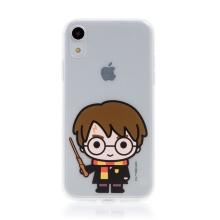 Kryt Harry Potter pro Apple iPhone Xr - gumový - Harry Potter - průhledný