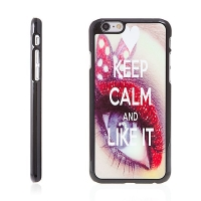 Plasto-kovový kryt pro Apple iPhone 6 / 6S - Keep Calm And Like It