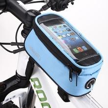 Sportovní pouzdro na kolo ROSWHEEL pro Apple iPhone 6 / 6S / 7 / 8 / X - modré