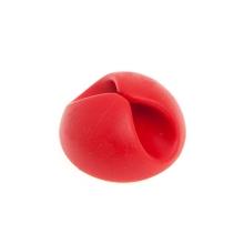 Spona / držák pro uspořádání kabelů - červená