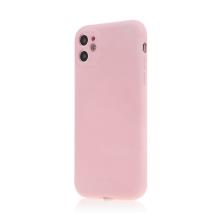 Kryt SWISSTEN Soft Joy pro Apple iPhone 11 - příjemný na dotek - silikonový - růžový