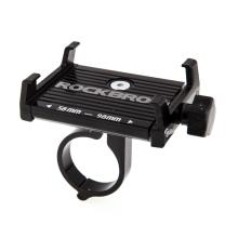 Držák na kolo ROCKBROS pro Apple iPhone - univerzální - pevný - hliník - černý