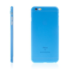 Kryt pro Apple iPhone 6 Plus / 6S Plus plastový tenký ochrana čočky modrý