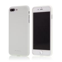 Kryt MERCURY Soft feeling pro Apple iPhone 7 Plus / 8 Plus - gumový - bílý