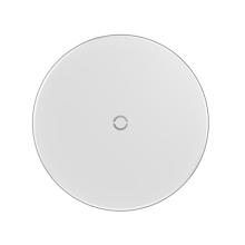 Bezdrátová nabíječka / nabíjecí podložka Qi BASEUS - kov / sklo - bílá