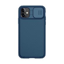 Kryt NILLKIN CamShield pro Apple iPhone 11 - MagSafe magnety + krytka kamery - tmavě modrý