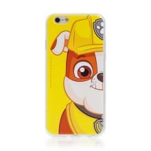 "Kryt ""Tlapková patrola"" pro Apple iPhone 6 / 6S - gumový - Rubble"
