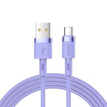 Synchronizační a nabíjecí kabel JOYROOM USB-C - USB 3.0 - 1,2m - fialový