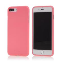Kryt MERCURY Soft feeling pro Apple iPhone 7 Plus / 8 Plus - gumový - růžový