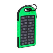 Solární externí baterie / power bank FOREVER STB-200 - 5000 mAh - zelená