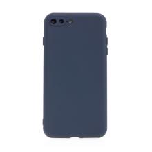 Kryt pro Apple iPhone 7 Plus / 8 Plus - příjemný na dotek - silikonový - tmavě modrý