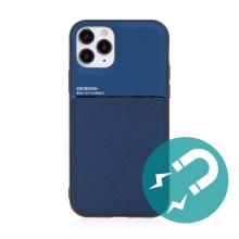 Kryt pro Apple iPhone 11 Pro - vestavěný plíšek pro držáky - plastový / gumový - modrý