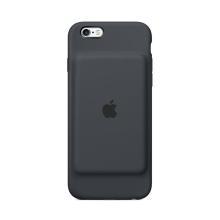 Originální Apple iPhone 6 / 6S Smart Battery Case - uhlově šedý