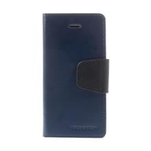 Pouzdro MERCURY Sonata Diary pro Apple iPhone 5 / 5S / SE - stojánek - tmavě modré