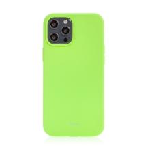 Kryt ROAR pro Apple iPhone 12 Pro Max - gumový - limetkově zelený
