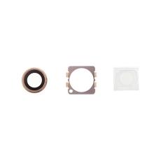 Krycí sklíčko zadní kamery Apple iPhone 6 / 6S - zlaté - kvalita A