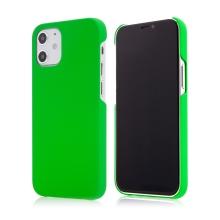 Kryt pro Apple iPhone 12 mini - plastový - měkčený povrch - zelený