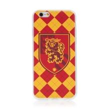 Kryt Harry Potter pro Apple iPhone 6 / 6S - gumový - emblém Nebelvíru