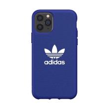 Kryt ADIDAS Originals pro Apple iPhone 11 Pro - gumový - látkový - modrý