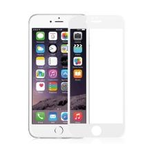 Tvrzené sklo / Tempered Glass AMORUS pro Apple iPhone 6 / 6S - bílý rámeček - 0,26mm