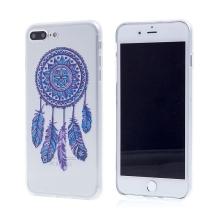 Kryt pro Apple iPhone 7 Plus / 8 Plus - gumový - průhledný / lapač snů
