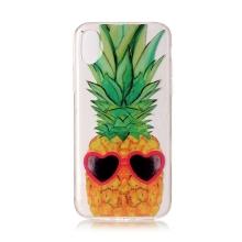 Kryt pro Apple iPhone X / Xs - gumový - zamilovaný ananas