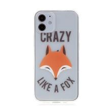 Kryt pro Apple iPhone 12 mini - gumový - poťouchlá liška