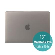 Obal / kryt pro MacBook Pro 13 Retina 2016 / 2017 (A1706, A1708) - plastový - šedý